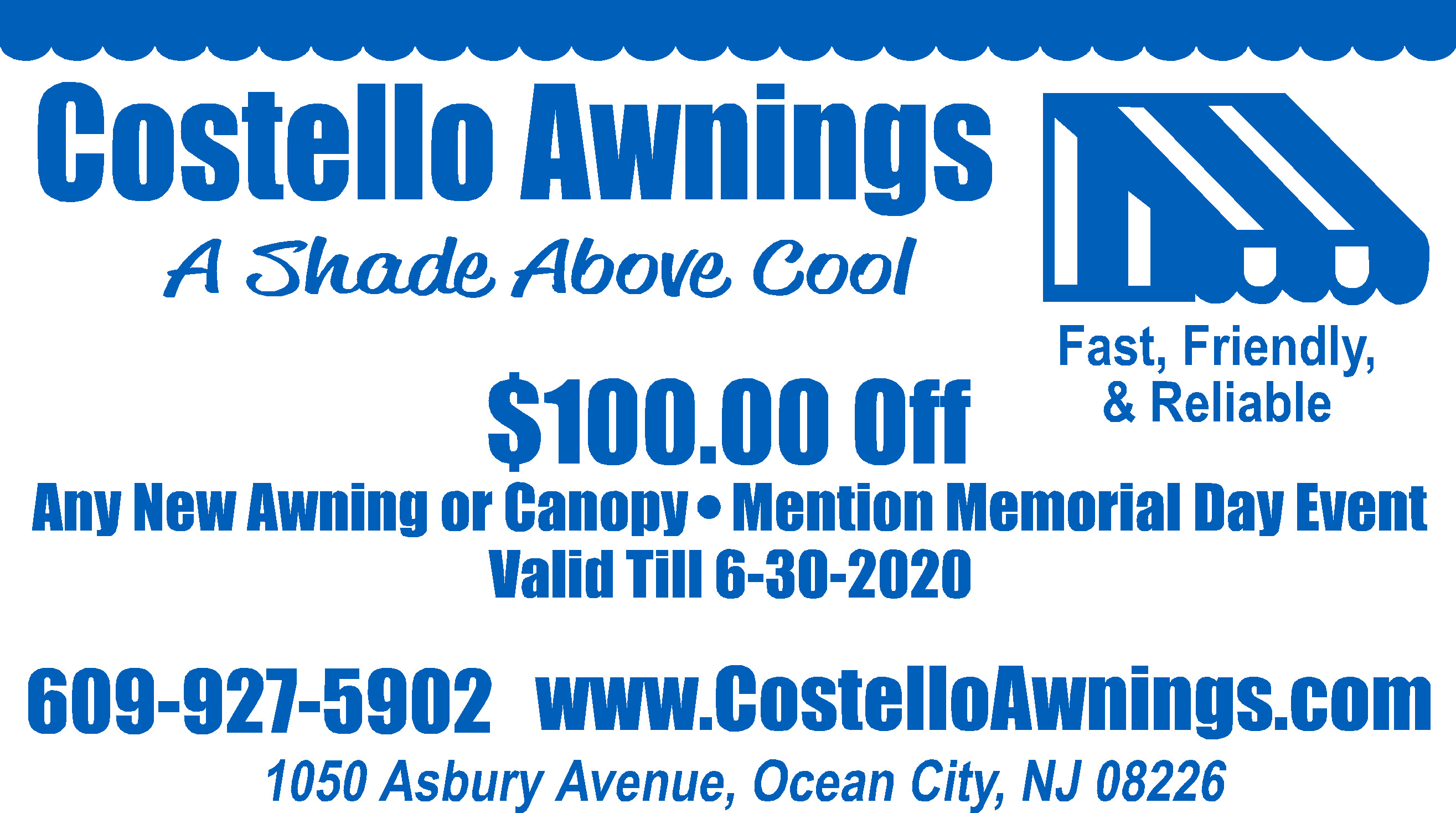 costello awnings