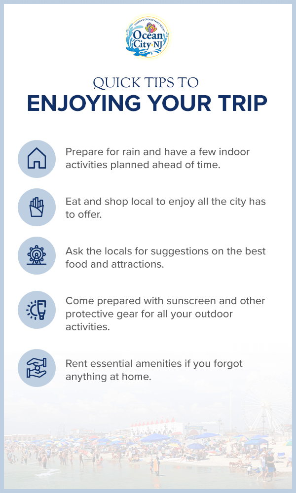 Quick Tips to Enjoying Your Trip
